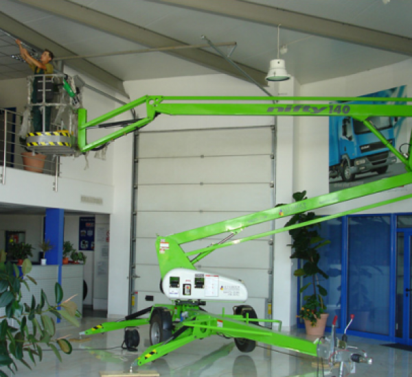Self propelled work platforms